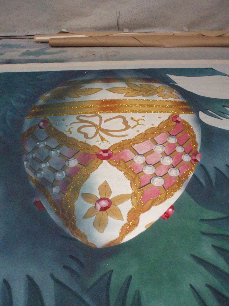 Tree Ornament detail, Alberta Ballet