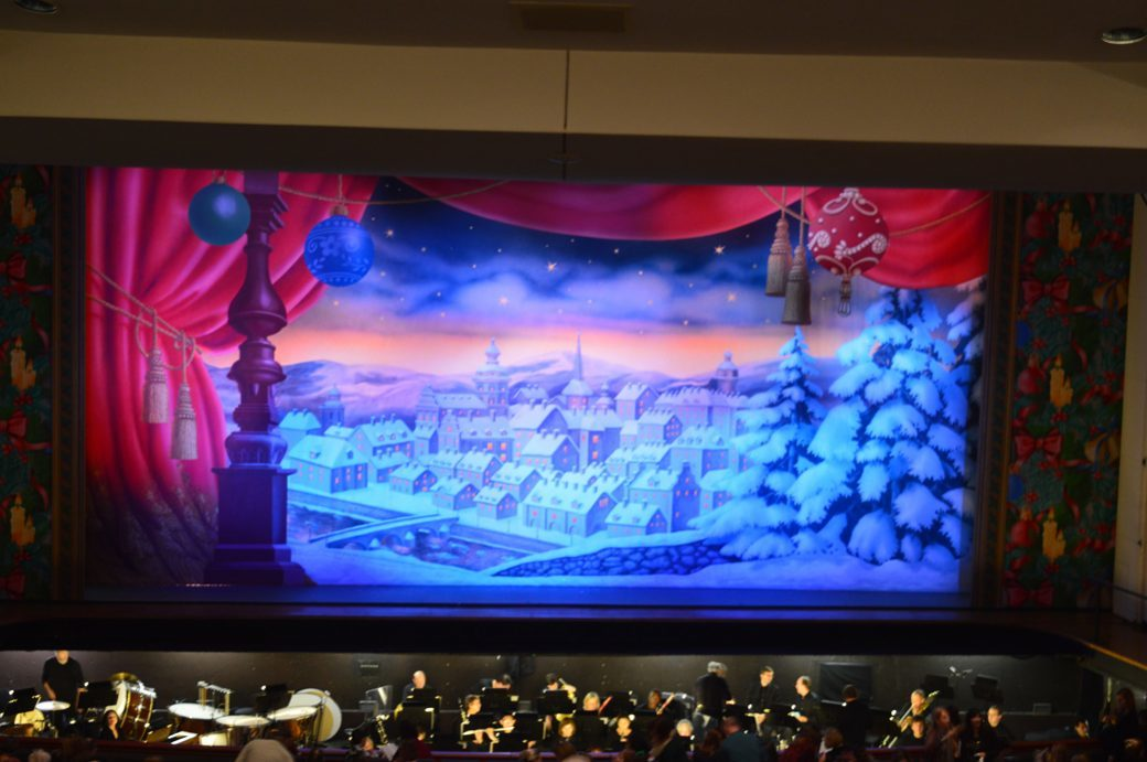 translucent Show Drop under dramatic lighting