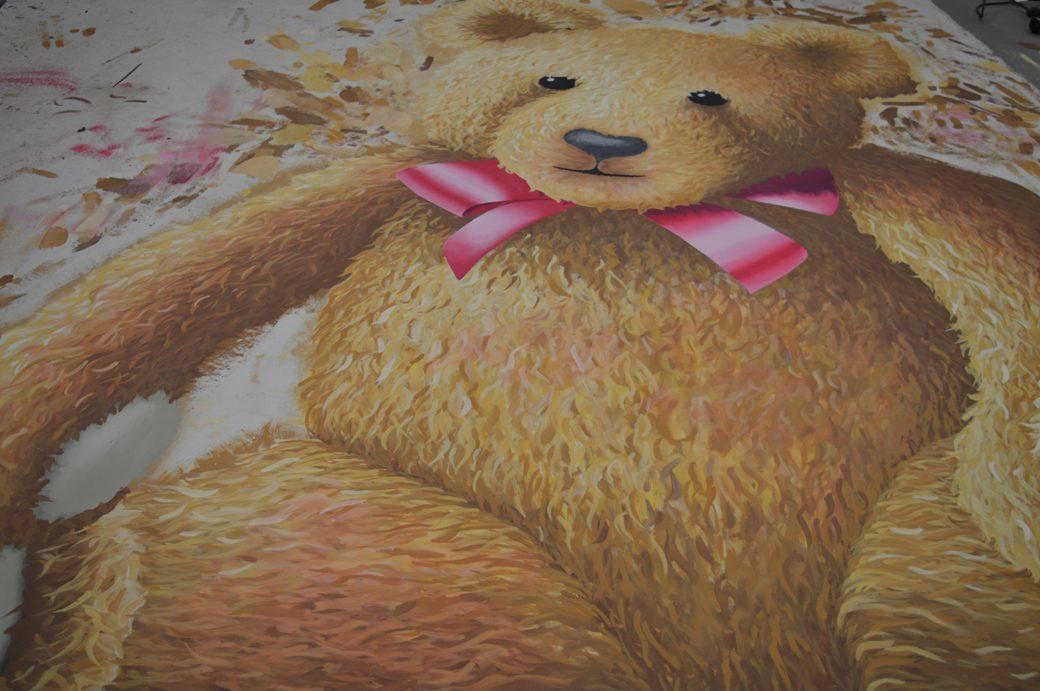 Big Bear Cut-out - SA= Mary Gagnon