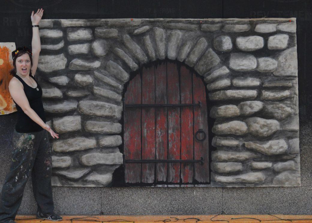 SATP Shannon Komlofske stones and door