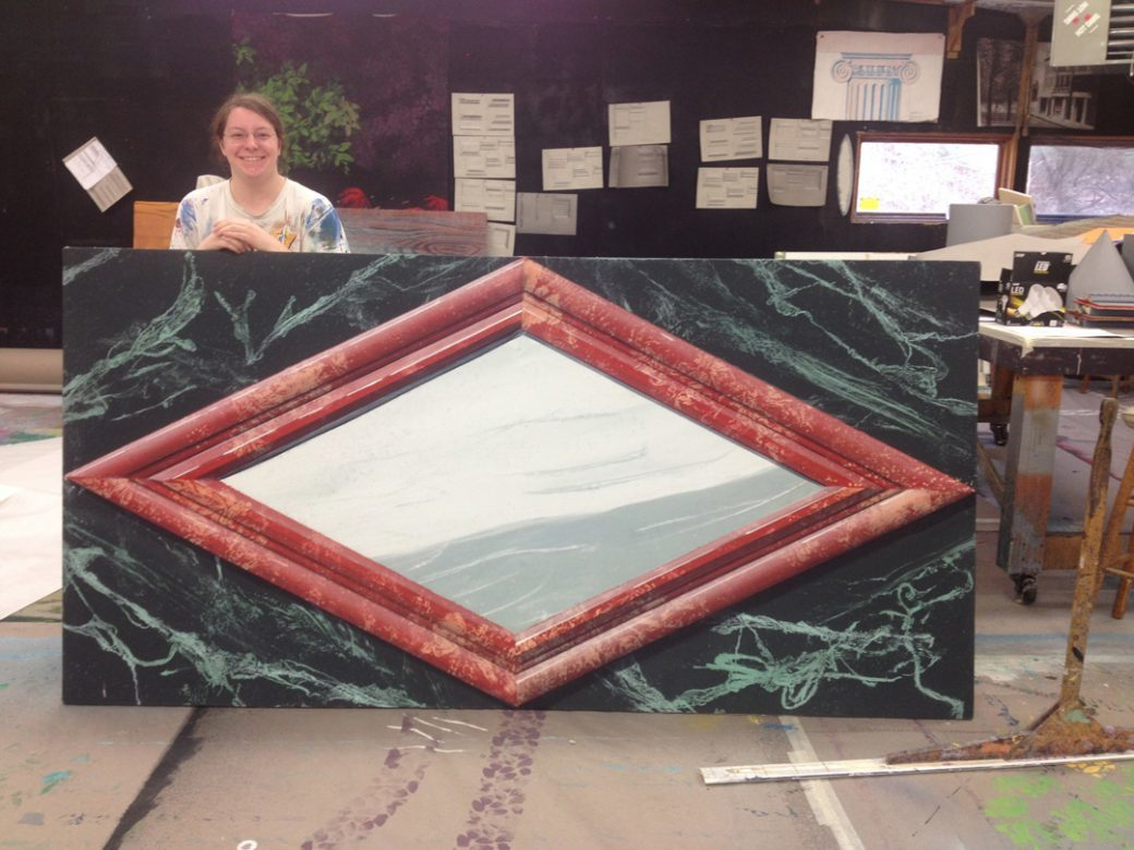 SATP Mary Gagnon - Marble Molding